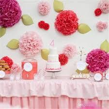 Make Tissue Paper Flower Balls 2019 12 Inch Pom Poms Flowers Tissue Paper Artificial Flower Balls
