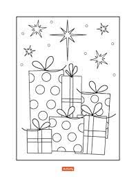 35 christmas coloring pages for kids
