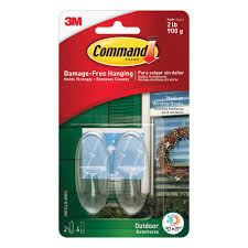 command outdoor window hooks 2 hooks 4 strips