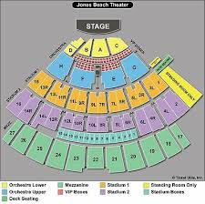 Nikon Jones Beach Theater Seating Chart Up To 4 Row Vip Box Seats Florida Georgia Line With Nelly