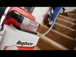 how to clean your stairs with rug doctor