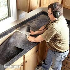 cut laminate countertop with table saw how install innovative sheet in model patio to decor 9