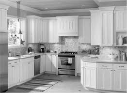 Kitchen Cabinets Crown Molding Gallery Of White Kitchen Cabinets With Black Countertops Home