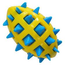 <b>Игрушка</b> для собак GimDog <b>Мяч регби</b> с шипами «Big Bang» 12,7 ...