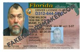 Driver's Maker Virtual Florida Fake - License Id Card