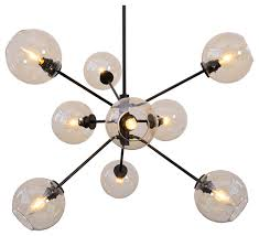 atom 9 light pendant lamp