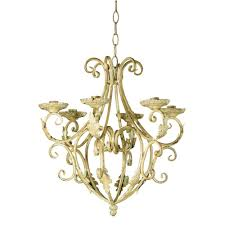 vintage wrought iron candle chandelier designs