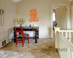 inspirational office. Work Hard Stay Humble Motivational Quotes Wall Sticker DIY Decorative Inspirational Office Quote Custom Colors Decal Q175-in Stickers From Home
