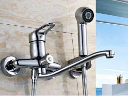 Small Picture Wall Mount Kitchen Faucet with Side Spray of The best Wall Mount