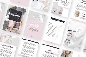 Ebook Template Cozy Creator Canva Ebook Template Or Adobe