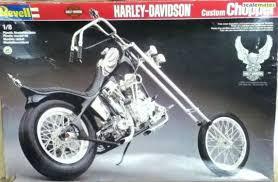 harley davidson custom chopper revell 7911 1992