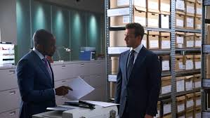 suits harvey specter office. Dulé Hill And Gabriel Macht Star As Alex Williams Harvey Specter In Suits Season 7 Episode 6, \ Office