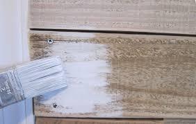 How To White Wash How To Whitewash Wood Paneling Best House Design Whitewash Wood
