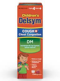 delsym children s dm cough syrup delsym