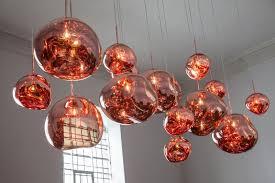 tomdixon melt gold pendant lamps