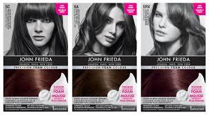 John Frieda Precision Foam Color Chart John Frieda Hair Dye Colour Chart Lajoshrich Com