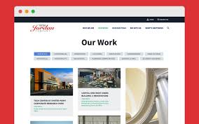 Web Design Company In Jordan Website Redesign For Construction Company Signal