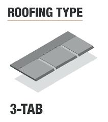 3 tab shingles red. Plain Red Autumn Brown Shingles 3 Tab Roofing Type  To Tab Shingles Red