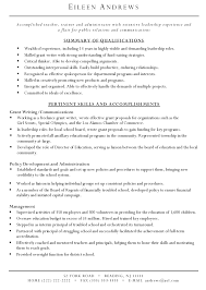 Written Resume Samples Grant Writer Resume Grant Writer Resume Sample 1