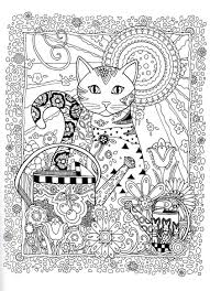 Creative Haven Creative Cats Dover Publications Coloring ...