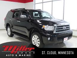 Pre-Owned 2014 Toyota Sequoia Platinum 4D Sport Utility in St ...