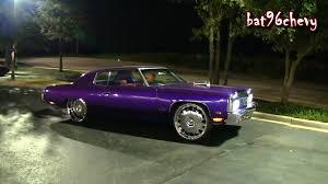 Candy Purple 73 Impala Donk on 26