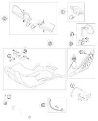 Rear brake pedal safety wire ktm