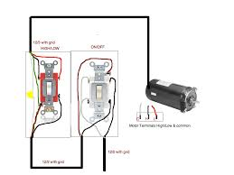 how do i connect a 2 speed pool pump motor to a toggle swi graphic
