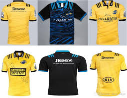 2019 high quality hurricane super rugby jersey yellow black home away 2018 2019 new zealand club rugby jerseys super rugby league shirt s 3xl from fans edge