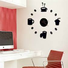 Small Picture Meal Schedule Designer Pattern Acrylic Crystal 3D Wall Sticker