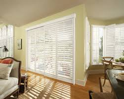 sliding glass doors with blinds. Interesting Picture Of Home Interior Decoration With Various Indoor Window Shutter : Hot Living Sliding Glass Doors Blinds