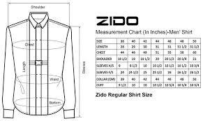 Zido Men Regular Fit Formal Shirt Red