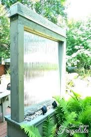 outdoor ter fountain ideas backyard ll luxury copper garden landscape water ba