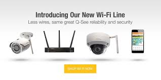 Q-See Wi-FI Security Cameras and Syst
