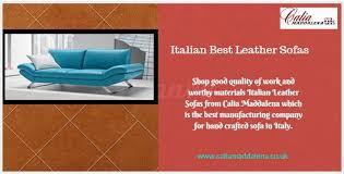 best italian leather sofas