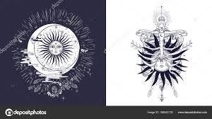 フリーメーソンのタトゥー シャツ 錬金術 Akultism 中世の宗教 レトロ 霊