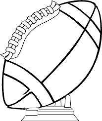 drawn football printable 1