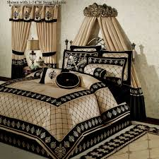 black cream bedroom comforter and curtain sets with rhomb pattern pictures amazing bedding of warm guard