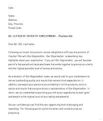 Letter Of Understanding Template Word Job Offer Template Word Tomcharman Co