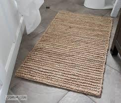 interesting jute bathroom rug with bathroom rugs long trellis bath rugbath rugs bath mats you ll