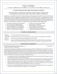 System Administrator Resume Sample India Resume For Study