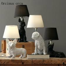 table lamps for living room retro dog lamp bedroom bedside creative animal decorative john lewis