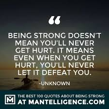 Be Strong Quotes Impressive 48 Quotes About Strength And Being Strong