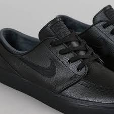 nike sb men s shoes beautiful nike sb black black stefan janoski leather shoes