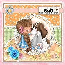 Digi Doodles Cora Piper & Tucker Digi Stamp – Digi Doodle Studios