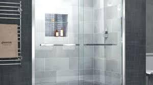 modern shower head recessed bathroom lighting. Recessed Shower Head Bathroom Modern Area With Clear Glass Sliding Throughout Renovation Ceiling Led Lighting I
