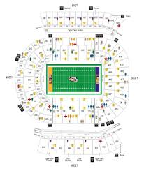 Stylish Razorback Stadium Seating Chart Seating Chart