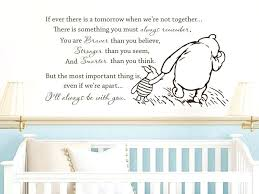 winnie the pooh wall decor free the pooh vinyl wall stickers if ever