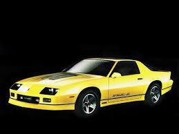 CHEVROLET Camaro IROC-Z28 specs - 1984, 1985, 1986, 1987, 1988 ...