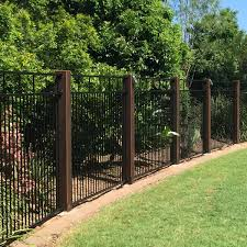 iron fence ideas
